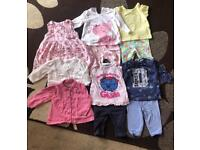 Baby Girl Bundle Size 0-3 Months