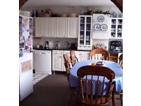 White Kitchen Units with Countertops