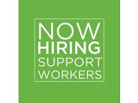 We are looking for support workers within our residential service in Shrewsbury