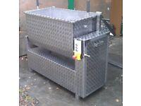 Commercial heavy duty food mixer 270L
