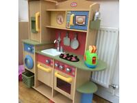 Little Tykes Wooden Play Kitchen