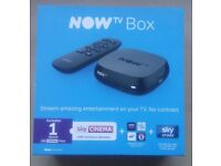 Now TV boxes with passes Brand New Sealed