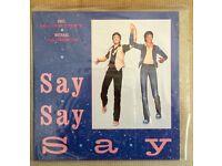Paul McCartney & Michael Jackson – Say Say Say UK 12' MINT.