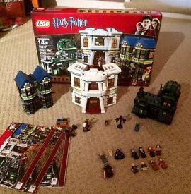 Harry Potter Diagon alley lego set 10217