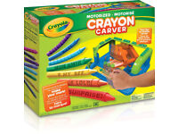 Art and Craft Crayola Crayon Motorized Carver Toy & New LOL 7 Crayons and Pencil