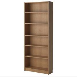 Billy bookcase pine x 2