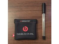 Earphones Magnetic Carrying Case beats by dr. dre Brand New