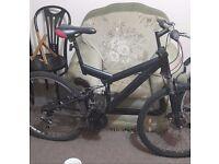 Adults mountain bike full suspension disc brake
