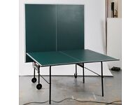 Indoor Table Tennis Table by Butterfly