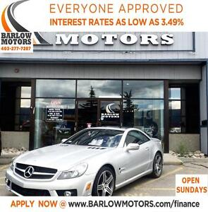 2009 Mercedes-Benz SL-Class SL63 AMG-SILVER ARROW EDITION - 1 ou