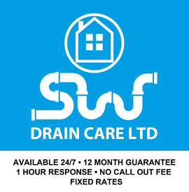 Blocked Drain, Toilet or Sink? We'll fix it. 24/7 Emergency - Fast Response