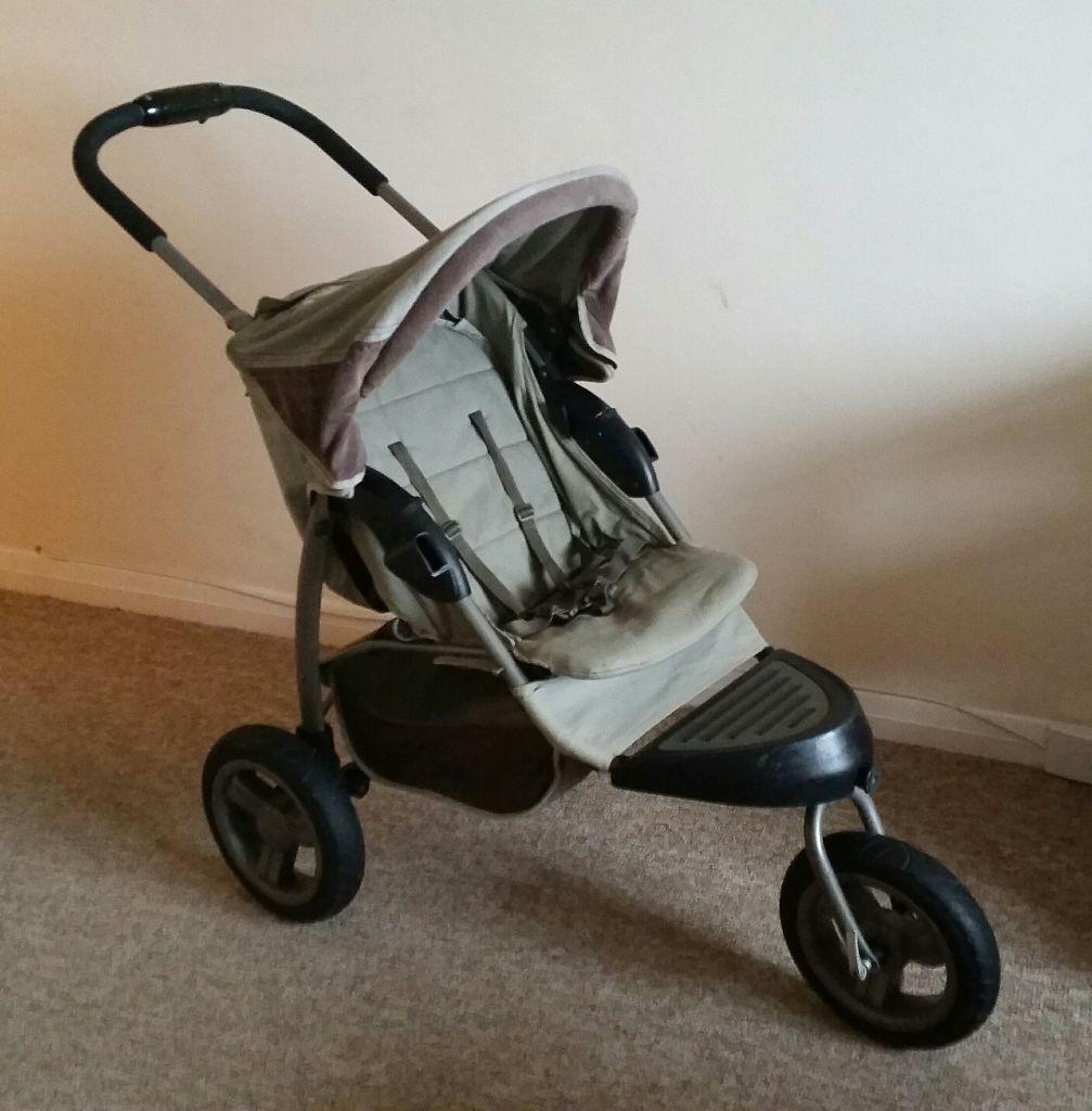 Mothercare Urban Detour travel system - newborn pram, pushchair and