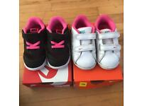 Nike trainers 👟 toddler size 6 1/2