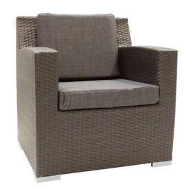 monaco garden sofa and armchair