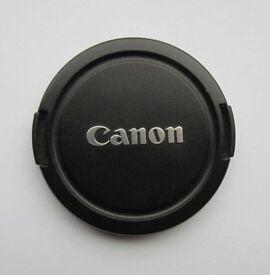 Genuine Canon 67mm lens cap