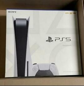 Ps5 disc version brand new with receipt