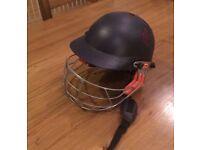 Junior cricket helmet.Good condition