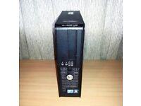 Dell OptiPlex 380 SFF Desktop PC - Core 2 Duo 2.93GHz 2GB 160GB Win 7 Pro