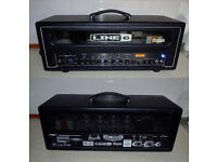 Line 6 HD100 Valve head with FBV shortboard foot controller