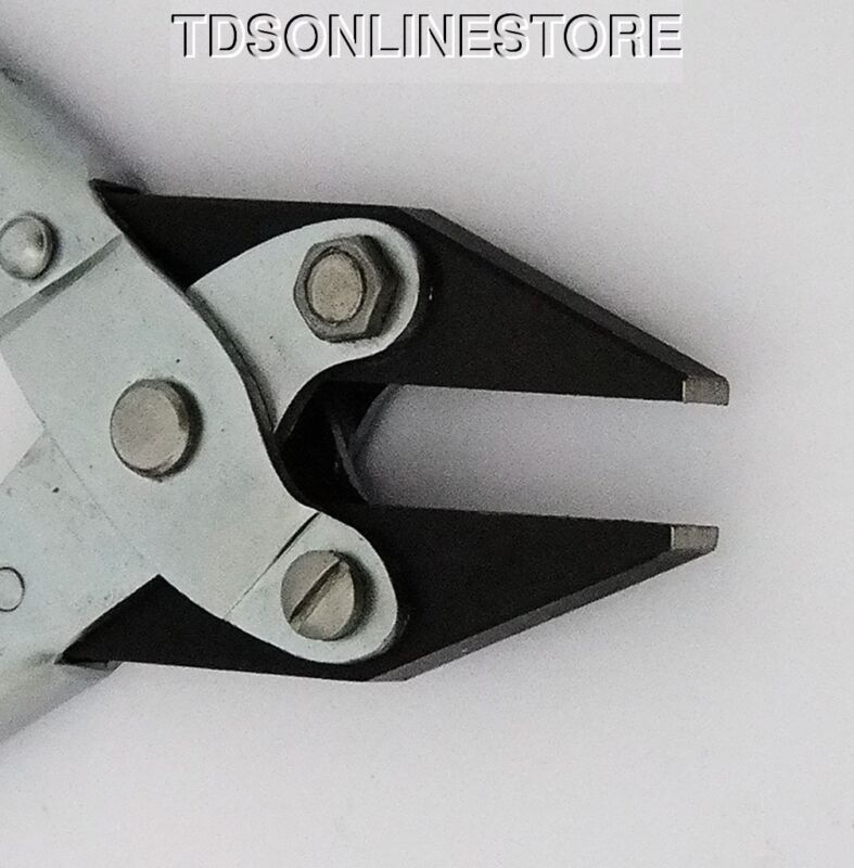 Flat Nose Parallel Pliers 6mm Wide Jaw