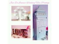 Wedding Hire Package - Post Box/Ferris Wheel/Love Letters £75