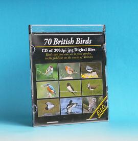 CD OF 60 BRITISH BIRDS