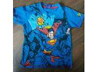 George boys superman top 5-6yrs