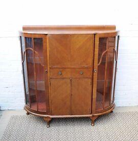 Vintage Drinks Cocktail Cabinet 50-60s ca