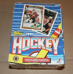 HOCKEY 1991-92 TOPPS PACK