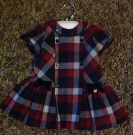 Mayoral babies winter tartan dress