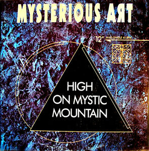 "12"" - Mysterious Art - High On Mystic Mountain (90's TECHNO) NUEVO / MINT LISTEN"