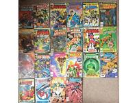 Bundle of comics comic silver age modern £2