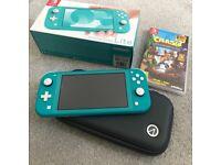 Nintendo Switch Lite + Crash Bandicoot N-Sane Trilogy + hard case