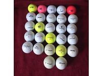 27x Golf Balls topflite, pinnacle etc job lot