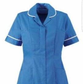 nurses tunics, chefs coats and work triusers