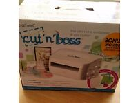 Craftwell Cut n Boss electric die cutting machine for card making scrapbooking