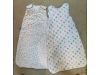 2 GROBAGS - 2.5 TOG 100% COTTON (0-6 MONTHS)