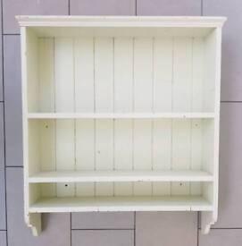 Wall shelf unit vintage shabby chic