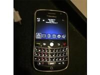 Blackberry Bold 9000 on O2