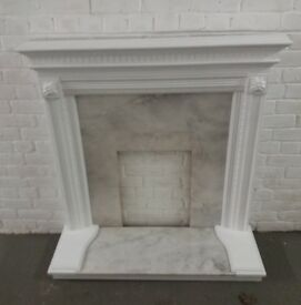Fire surround ...professionally restored/painted
