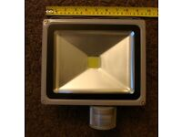 large floodlight led with pir new in box i have three for sale