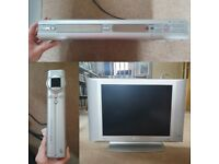Philips TV 20 inch, DVDR, Freeview box + cables circa 2004 (job-lot) FREE