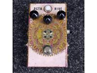 Beetronics Octahive Fuzz guitar pedal with octave