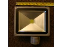 led with pir flood lights i have three for sale all new