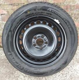 Spare steel wheel. Used on Ford Galaxy 06-15