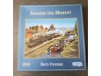 Gibsons 1000 piece jigsaw. Sharing The Moment