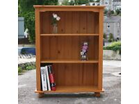 Lovely Solid Pine Bookcase