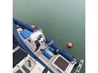 Ocean 7M diesel cabin rib boat