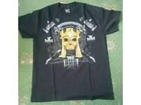 Authentic WWE Triple H Adveniat Regnum Tuum Medium Size Shirt