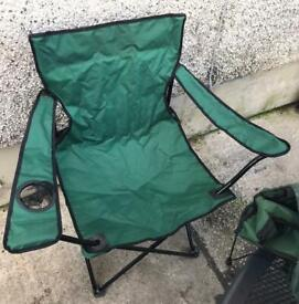 Folding Camping Chairs, £3 each